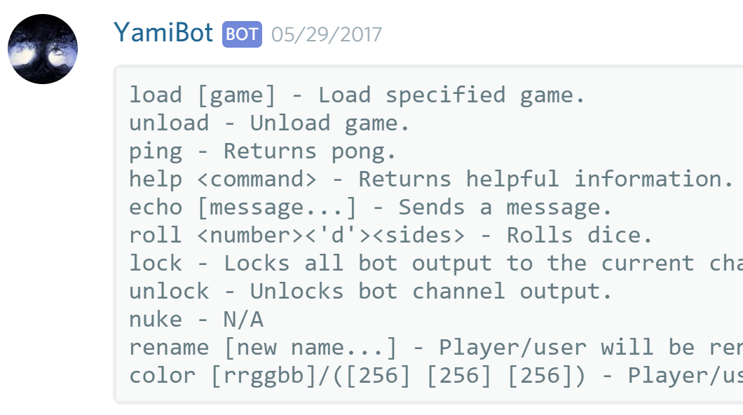 Discord RPG Bot with XML Inventory – Dreamy z net
